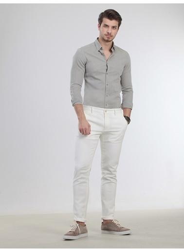 Kip Klasik Pantolon Beyaz